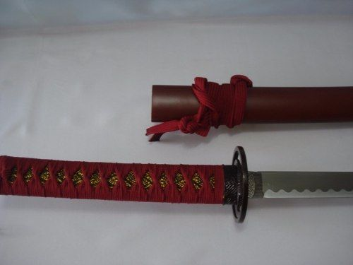 Espada Katana Sasuke Uchiha Naruto Anime Aço C Suporte  - Presente Presente