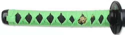 Espada Biohazard Samurai Sword Zumbi Killer Green Mod Sf3024  - Presente Presente