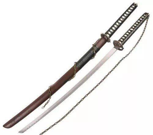 Espada Samurai Japonesa Metal Chain Promoção  - Presente Presente