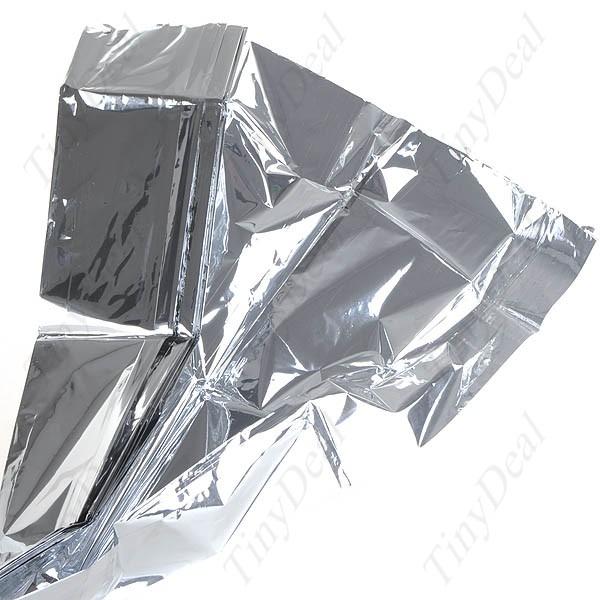 Cobertor Termico De Emergencia Aluminizado 210x130 Cm  - Presente Presente