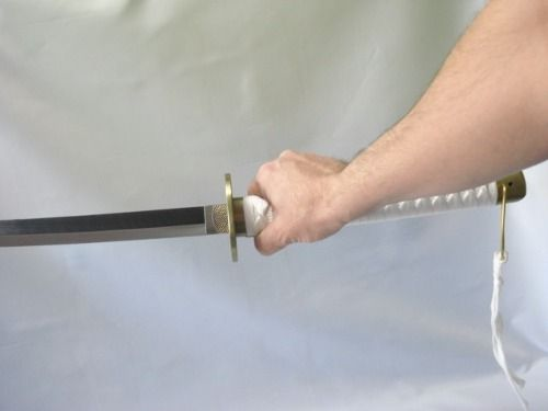 Espada Katana Cosplay 100cm Game C/ Suporte  - Presente Presente