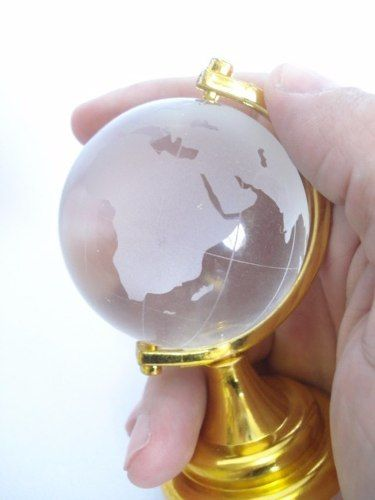 30 Peças Peso De Papel Mini Globo Terrestre Mapa Mundi  - Presente Presente