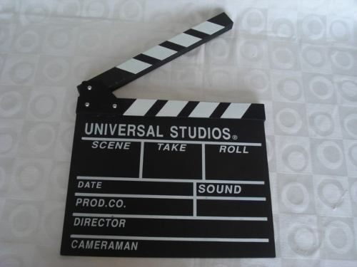 Claquete Cinema Filmagem Decoração Retro  - Presente Presente