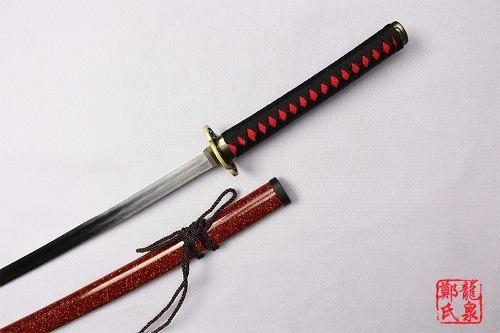 Katana Espada Hitofuri Cosplay Ichigo Aço Touken Ranbu  - Presente Presente