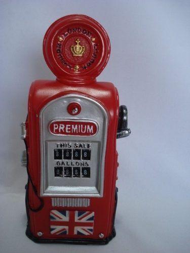 Cofre Bomba Gasolina Londres E Cofre Extintor De Incêndio  - Presente Presente