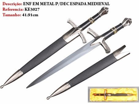 Mini Espada Game Of Thrones Winter Is Coming 41cm  - Presente Presente