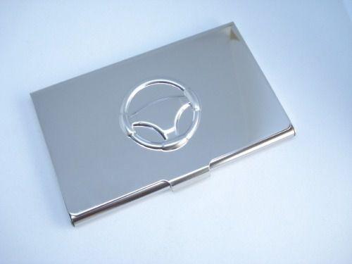 Porta Cartão Credito Cromado Liso Mini Carteira  - Presente Presente