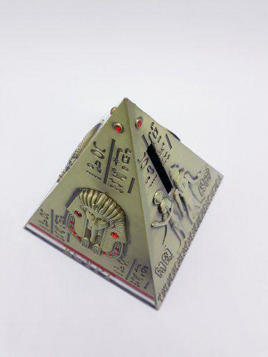 Cofre Pirâmide Egito Metal Decoração Enfeite Coleção  - Presente Presente