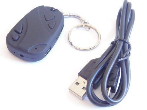 Chaveiro Espião / Filma Com Áudio + Fotos 1280x960/ Até 16gb  - Presente Presente