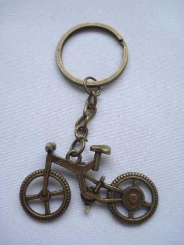 Chaveiro Bicicleta Metal Vintage  - Presente Presente
