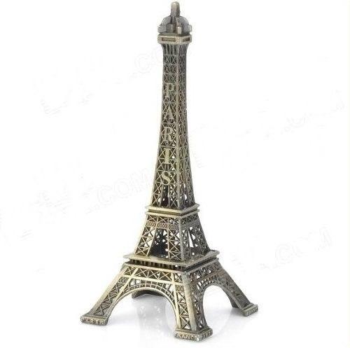 Torre Eiffel Miniatura 32cm Paris Champs De Mars  - Presente Presente