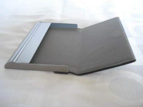 Porta Cartão De Visitas Ford Inox   - Presente Presente