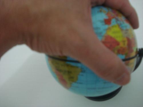 Globo Terrestre Gira Planisferio Escolar Mapa Atlas Planeta  - Presente Presente