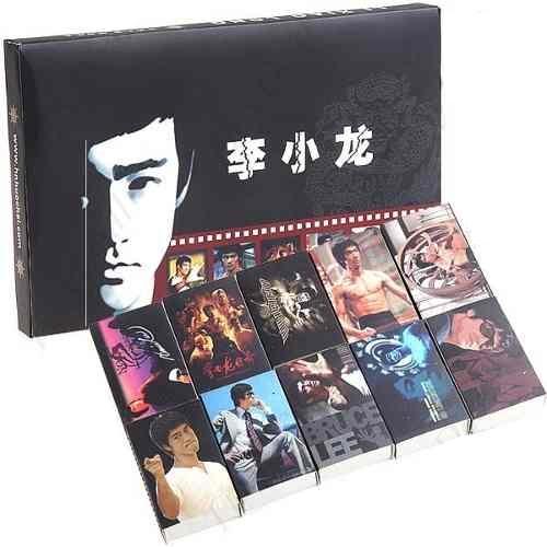 Conjunto Bruce Lee Coleção 10 Caixas De Fosforos  - Presente Presente
