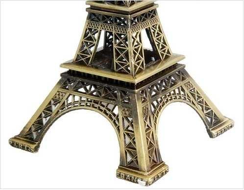 Torre Eiffel Miniatura 25cm Paris Champs De Mars  - PRESENTEPRESENTE