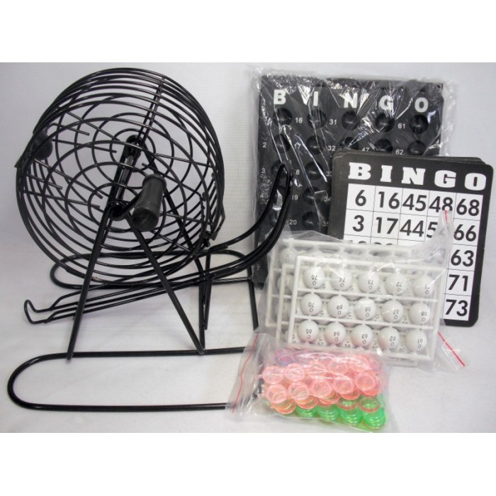 Jogo Bingo Conjunto Completo Jogos Baralho Domino Jogos  - Presente Presente