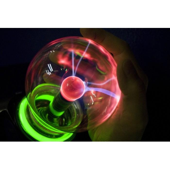 Globo De Plasma Grande Plasma Sphere Bola De Cristal  - PRESENTEPRESENTE