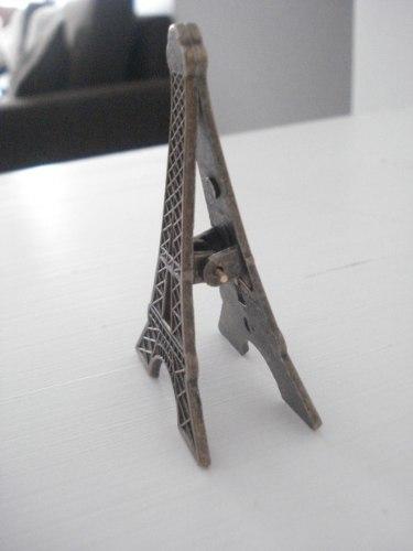 Clipe Prendedor De Papel Torre Eiffel  - Presente Presente
