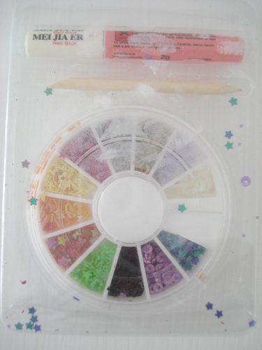 Enfeite Para Unhas Nail Arte Decoração 12 Modelos frete grátis  - Presente Presente