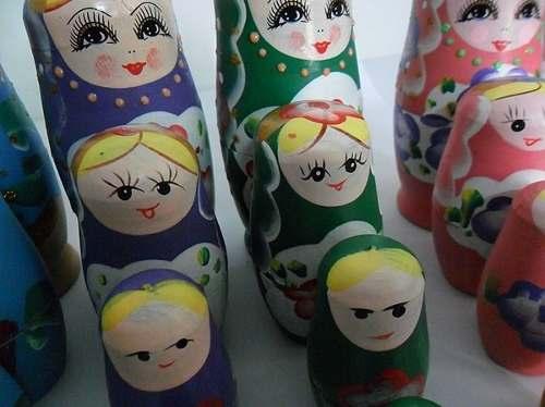 Boneca Matryoshka Russa 5 Peças  - Presente Presente