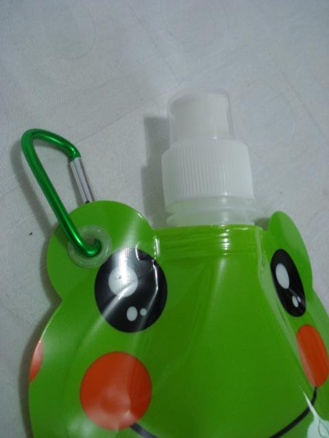 Garrafa De Água Dobrável Sapo Flexível Reutilizável  - Presente Presente