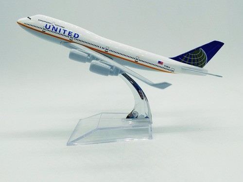 - Avião United Airlines Jato Miniatura  - Presente Presente