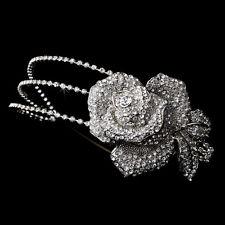 Tiara para noiva - casamento - Rosa com cristais Swarovski