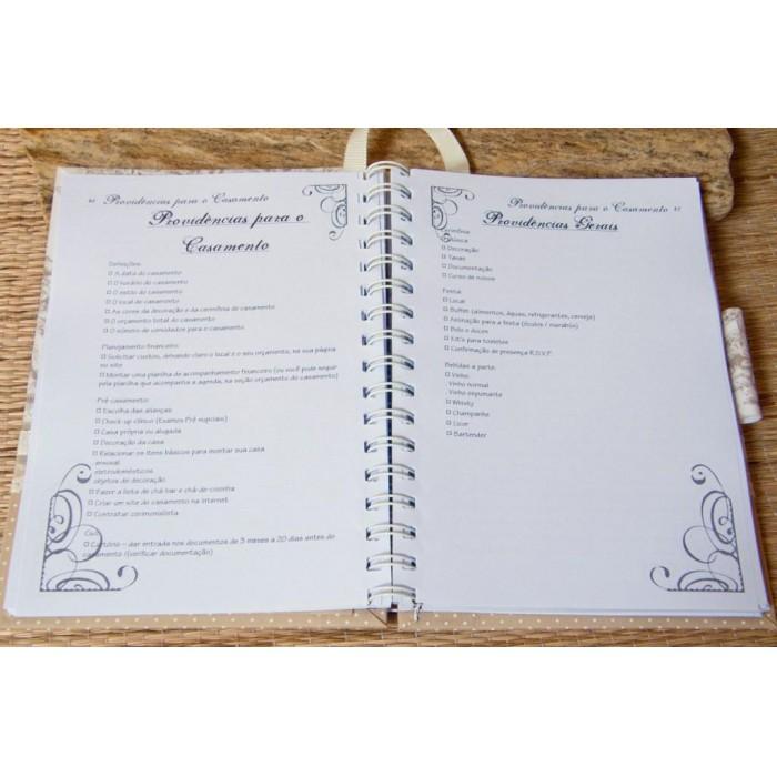 Agenda da noiva - Guia para Casamento - Dots
