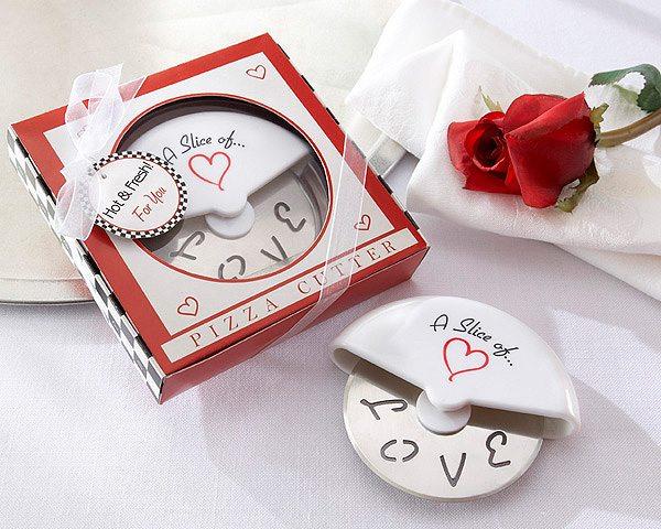 Cortador de Pizza Fatia Amor - Lembrança para Padrinhos ou Convidados