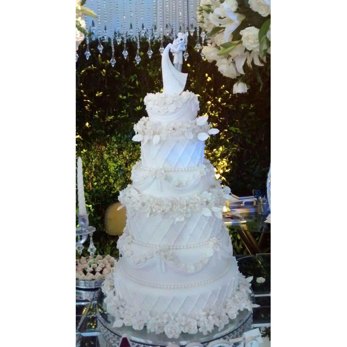 Topo de bolo - Frase de Amor cristais