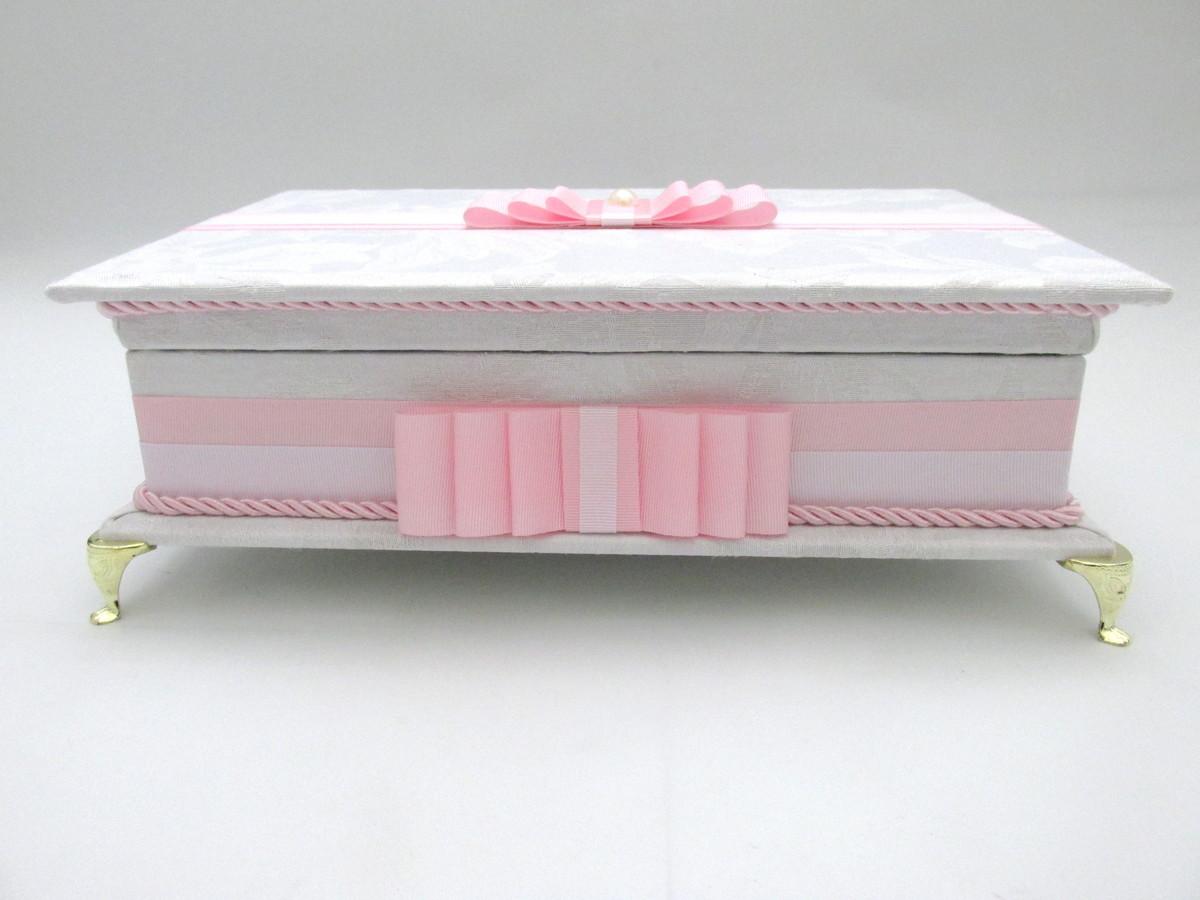 Caixa de toalete - kit de casamento - Delicado