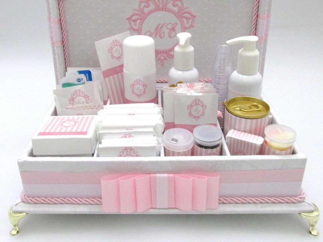 Kit Banheiro Para Casamento Goiania : Kits para toalete caixa de kit casamento