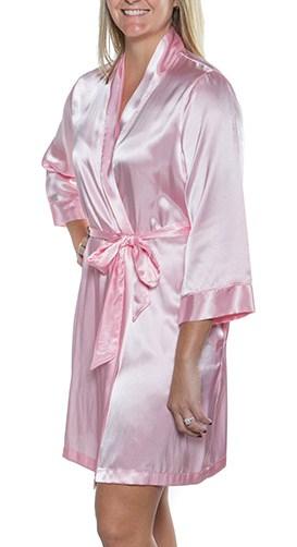 fe68ee2e0 ... Robe para Madrinha - Rosa Claro Arabesco pink - Suprême Glamour ...
