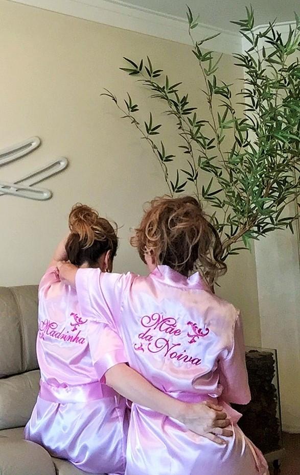 f0182c411 ... Robe Mãe da Noiva - Rosa Claro Arabesco pink - Suprême Glamour