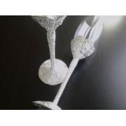Taças para Casamento - Brinde dos Noivos - Shine