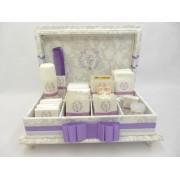 Caixa de toalete - kit de casamento - Super Romântico