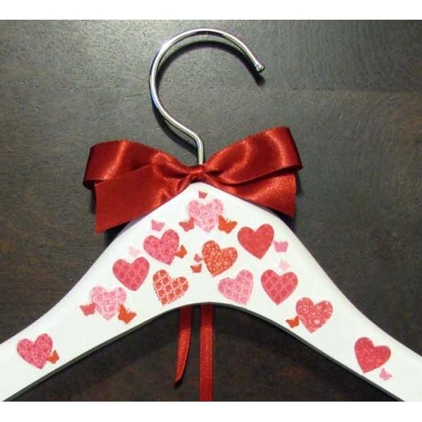 Cabide para Noivas - Corações Apaixonados