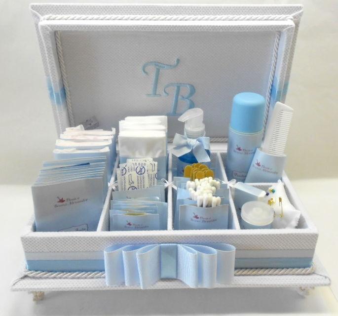 Caixa de toalete - Kit de Casamento - Suave