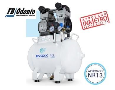 COMPRESSOR EVOXX 40L 2,0HP