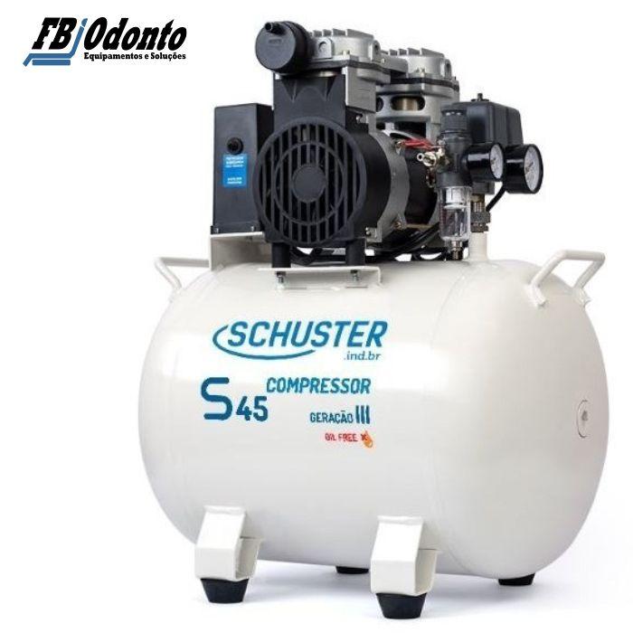 Compressor Schuster S45 – Geração III