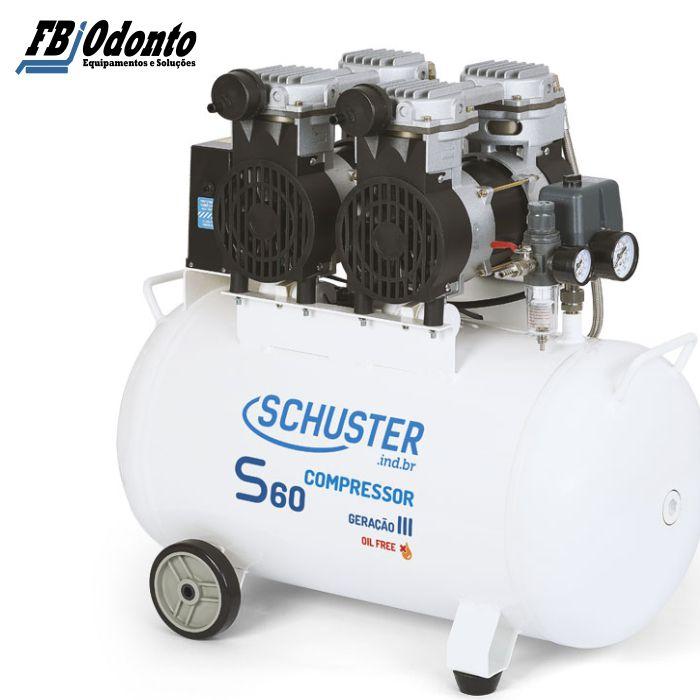 Compressor Schuster S60  Geração III