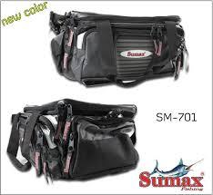 Bolsa de Pesca Sumax New SM-701B ( Preta )  - MGPesca