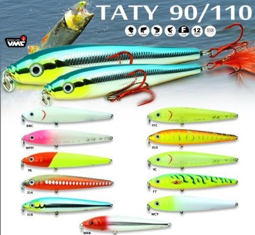 Isca Artificial Sumax Big Taty Jump 110 BSTJ-110  - MGPesca