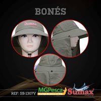 Chapéu Sumax com proteção UV e protetor de ombros - SB-1307V  - MGPesca