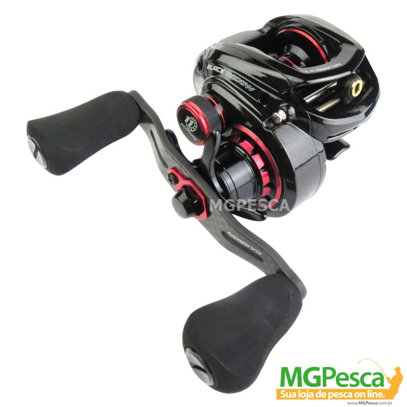 Carretilha Marine Sports Lubina GTS Black Widow 8.3  - MGPesca