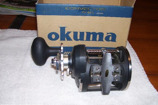 Carretilha Okuma Convector CV45L - Manivela Direita  - MGPesca