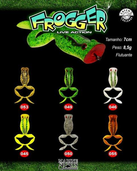 Isca Artificial Marine Sports Frogger Live Action  - MGPesca