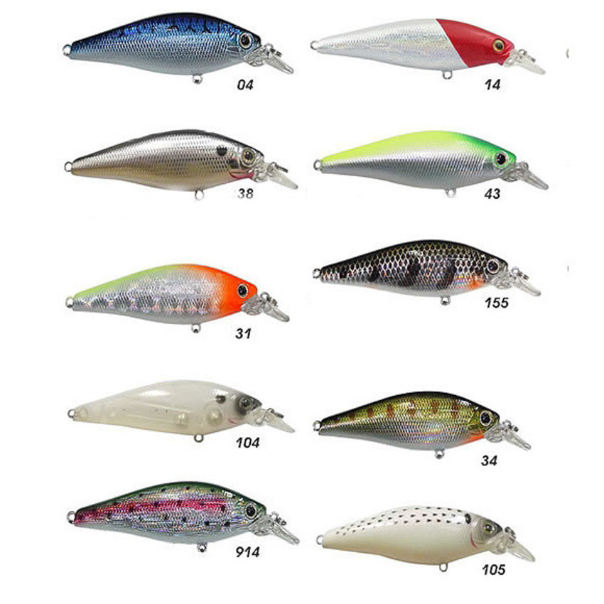 Isca artificial Marine Sports Shiner King 70  - MGPesca
