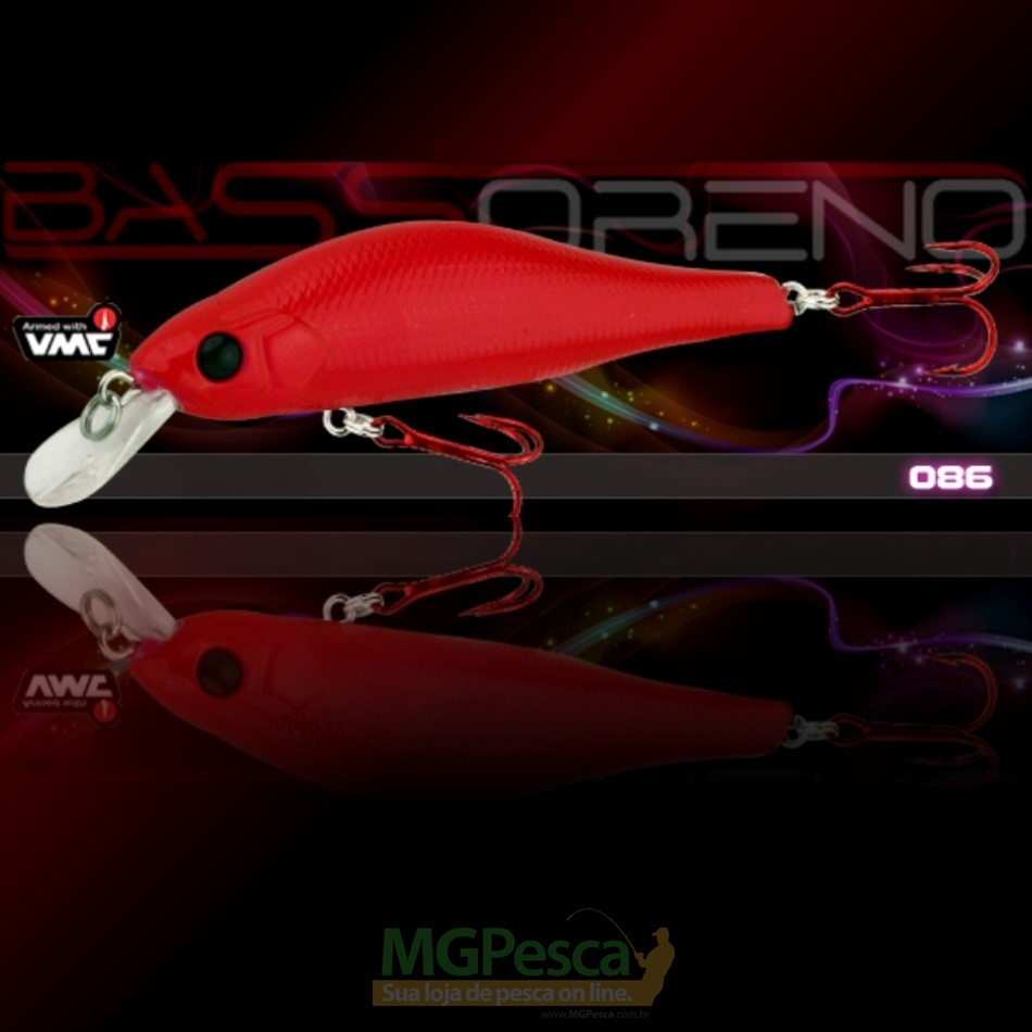 Isca Artificial Sumax Bass Oreno 80F  - MGPesca
