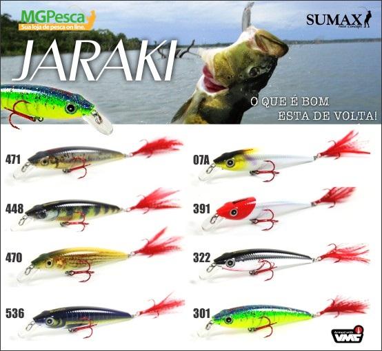 Isca Artificial Sumax Jaraki  - MGPesca